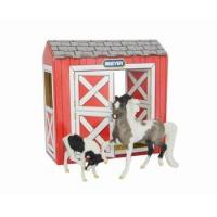 Breyer Stablemates Pinto Horse Toy and Foal Model Playset Manufactures