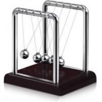 Elegant Newtons Cradle - Red Base Manufactures