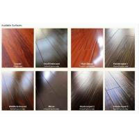silk surface with painted v-groove laminate flooring Manufactures