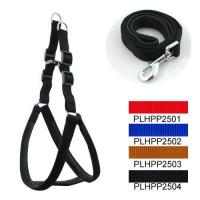 Classic & Padded Harness Leash Set 2.5cm Manufactures