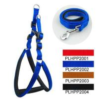 Classic & Padded Harness Leash Set 2.0cm Manufactures