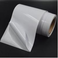China Self Adhesive Glossy Paper Glassine Liner in Roll on sale