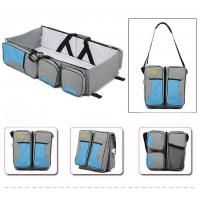 China Baby Kingdom - Portable Baby Travel Bed Diaper Bag on sale