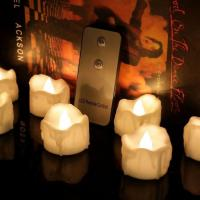China Battery Operated Remote Control LED Tealight Candles on sale