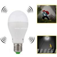Buy cheap 5W 3hours Emergency LED Bulb with Microwave Sensor from wholesalers