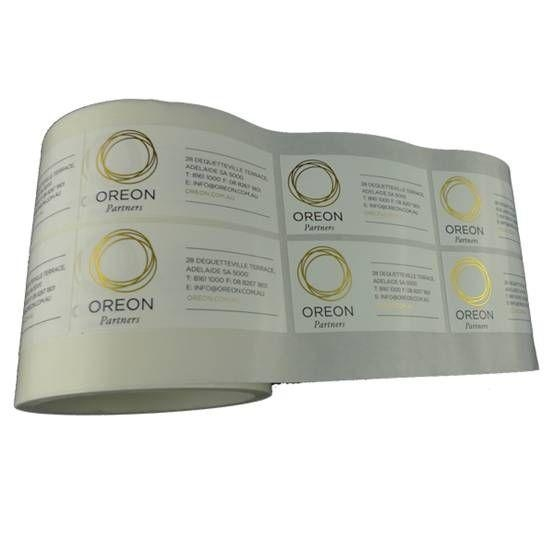 Quality Gold Foil Label Printing for sale