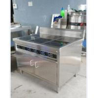 Customized Electric Cooking Range For Commercial Six Eyes Burner Stainless Steel Manufactures