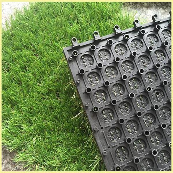 Quality Easy Installation and Maintain Artificial Grass Tiles for sale