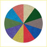 Buy cheap Black or Colorful Rubber Infill Crumb for Artificial Grass from wholesalers