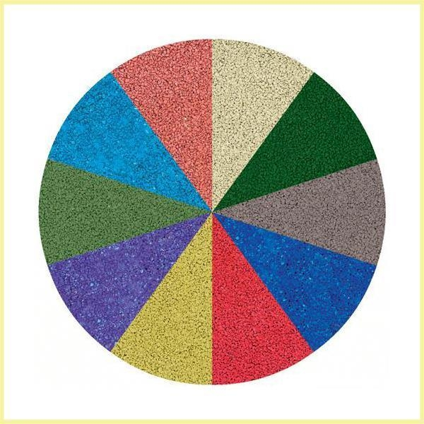 Quality Black or Colorful Rubber Infill Crumb for Artificial Grass for sale