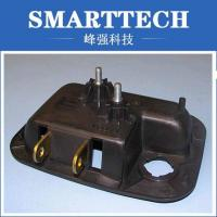 Connector Plastic Injection Mold Making Metal Pin Black Erosion CH27 Surface Manufactures