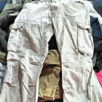 China Cargo Long Pants Small Bale Used Clothes on sale