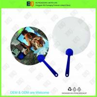 3D Lenticular hand fan with pp handle for advertisement and gift Manufactures