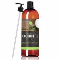 Fractionated Coconut Oil Carrier Oil, Liquid 16 Oz Manufactures
