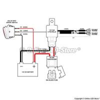 12 Volt Led Driving Lights Relay Wiring Diagram Manufactures
