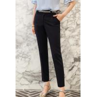 China Lip Pocket Point Straight Slacks on sale