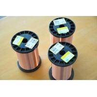 Round Polyurethane Solderable Magnetic Copper Wire With Higher Thermal Property Manufactures