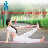 deluxe natural rubber yoga mat Manufactures