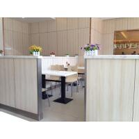 Public wall cladding system High pressure laminates Formica sheets