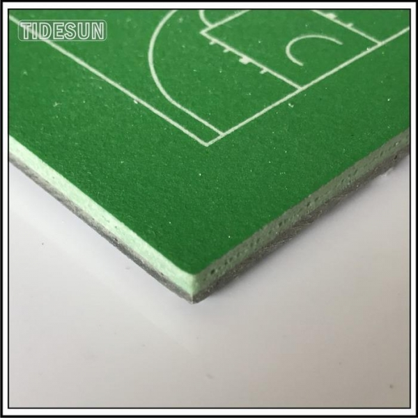 Quality Silicone PU Gym Flooring Mats Indoor and Outdoor Basketball Sport Court for sale