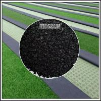 Outdoor Black Plastic Rubber Mulch for Landscaping Manufactures