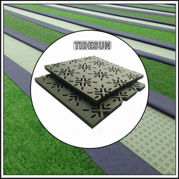 Quality Rubber Underlay Shock Putting Lawn Pad for Artificial Grass for sale