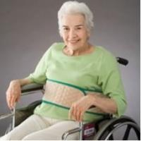 Wrap Around Safety Belt Posey 66 Inch L Beige Quilted Manufactures