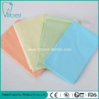 Buy cheap Three Ply Colorful Disposable With Tie Dental Bib from wholesalers