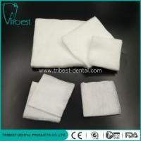 Buy cheap Dental Square Meters Disposable Medical Non-woven Gauze from wholesalers
