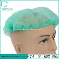 Buy cheap Disposable Medical Non-Woven Bouffant Round Cap from wholesalers