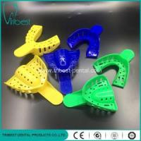 Denture Plastic Material Disposable Impression Teeth Trays Manufactures