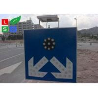 China Freestanding LED Solar Powered Sign Lights , Traffic Safety IP65 Commercial Solar Sign Lights on sale