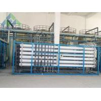 China Domestic / Industrial Seawater Desalination Plant With Imported Brand High Pressure Pump on sale