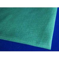 Buy cheap Blue Embossed Woodpulp and Polyester Nonwoven Wipes from wholesalers