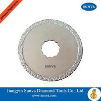 Buy cheap SUNVA Brazed Diamond Cutting Blades from wholesalers