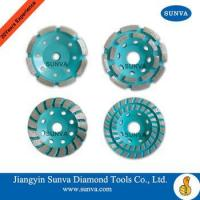 Buy cheap SUNVA Diamond Cup Wheel /Single Row /Double Row /Section Turbo from wholesalers