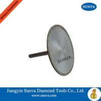 Buy cheap SUNVA Diamond Coated Mounted Blades / Diamond Coated Blades from wholesalers
