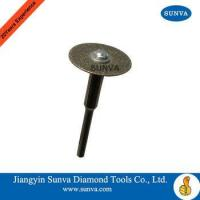 Buy cheap SUNVA Mini Diamond Coated Blades / Diamond Coated Saw Blades from wholesalers