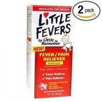 Little fever's fever/pain reliever infant drop 1-ounce (pack of 2) Manufactures