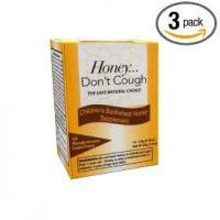 China Honey don't cough, children's buckwheat honey supplement, 10-count (pack of 3) on sale