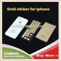 5s Gold Color Side Stickers Button for Iphone 5 4 with Retail Box Fast Ship Manufactures