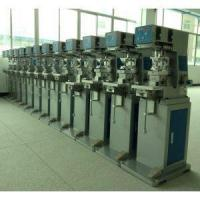 Buy cheap 2 color tabletop pad printing machine with shuttle from wholesalers