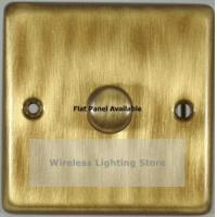 Flat Antique Bronze 1 Gang 1 or 2 Way 1000W Dimmer Switch Single Plate G&H FAB16S Manufactures