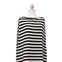 Covered Goods - Multi Use Cover - Black + Ivory Stripe Manufactures