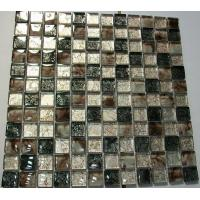 Buy cheap 23x23 Foshan Construction Patterns Resin Mosaic Glass Tile from wholesalers