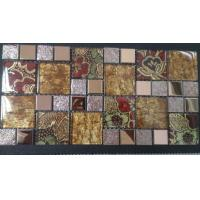 Buy cheap Mosaic Ceramic and Glass Mix Stainless Steel Tile Mosaic from wholesalers