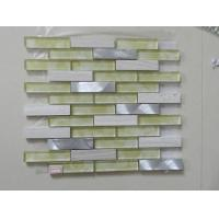 Buy cheap Travertine Mixed Painting Resin Mosaic Tile Sheets for Wall Decorate from wholesalers