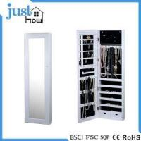 Buy cheap Wall Mounted Jewelry Armoire Over Door Jewelry Storage from wholesalers