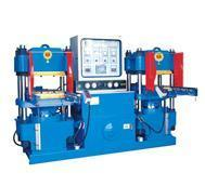 Buy cheap Plate Hot-press Molding Machine Plate track-type hot-pressing machine from wholesalers