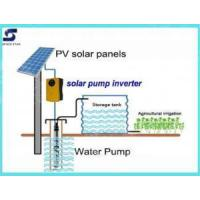 China Solar System High-Efficiency Solar Powered Deep Well Water Pump System on sale